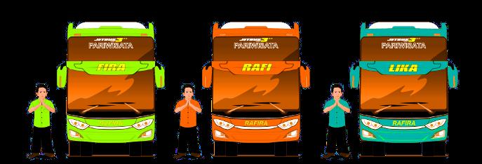 Gambar Bus Jogja Rafira - Bagian FAQ