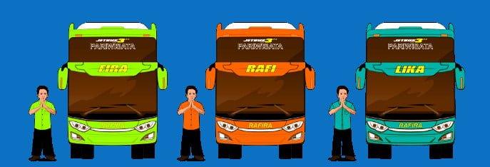 Jasa Rental Bus Wisata di Jogja Murah Berkualitas