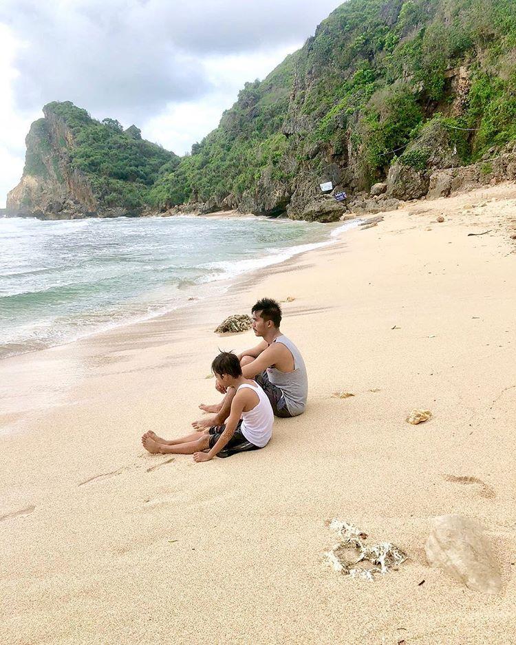 Wisata Pantai Nguyahan Gunung Kidul, sumber ig @Pantai Nguyahan