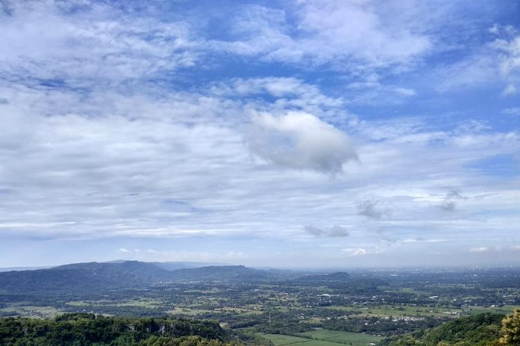 Pemandangan Wiayah Candi Ijo