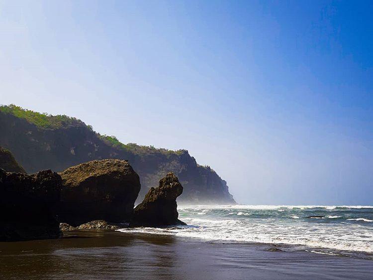 Pantai Parangtritis, sumber ig budi.aja31
