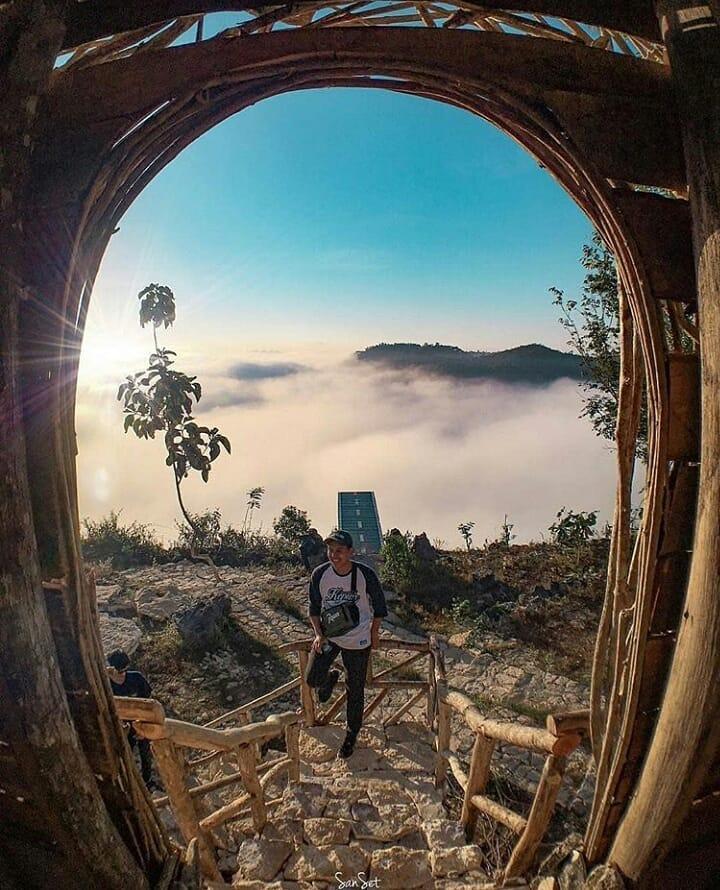 Spot Foto di Tebing Watu Mabur, sumber ig wonderful.jateng