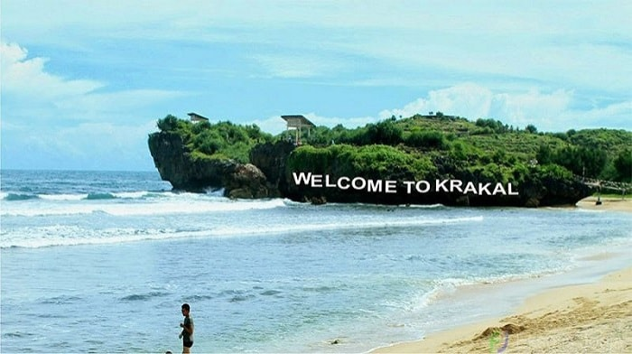Pantai Krakal, Tujuan Menarik Sehabis Wabah di Jogja