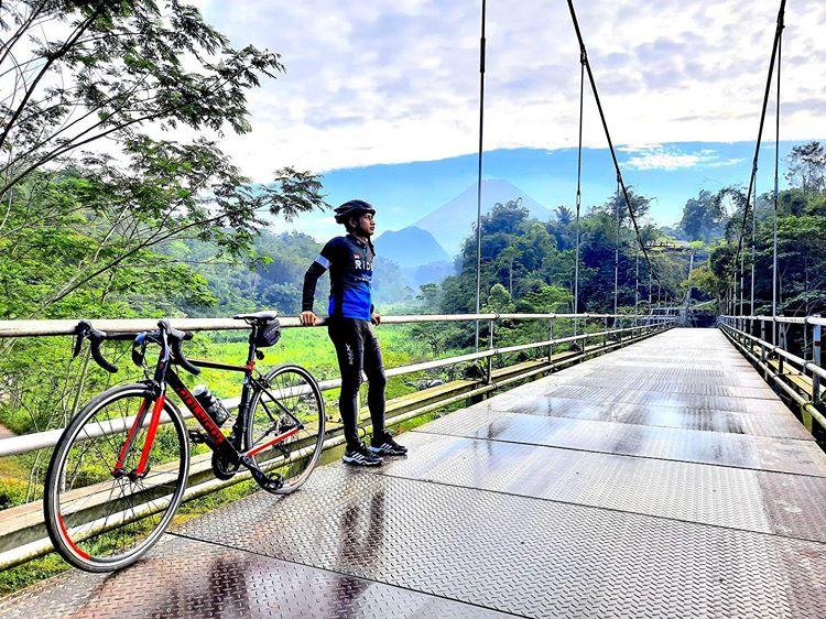 Spot Wisata Instagrammable Jembatan Kali Boyong Jogja