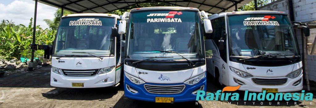 Ilustrasi Bus Pariwisata dari Rafira