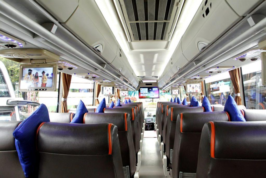 Ilustrasi Kabin Bus Pariwisata